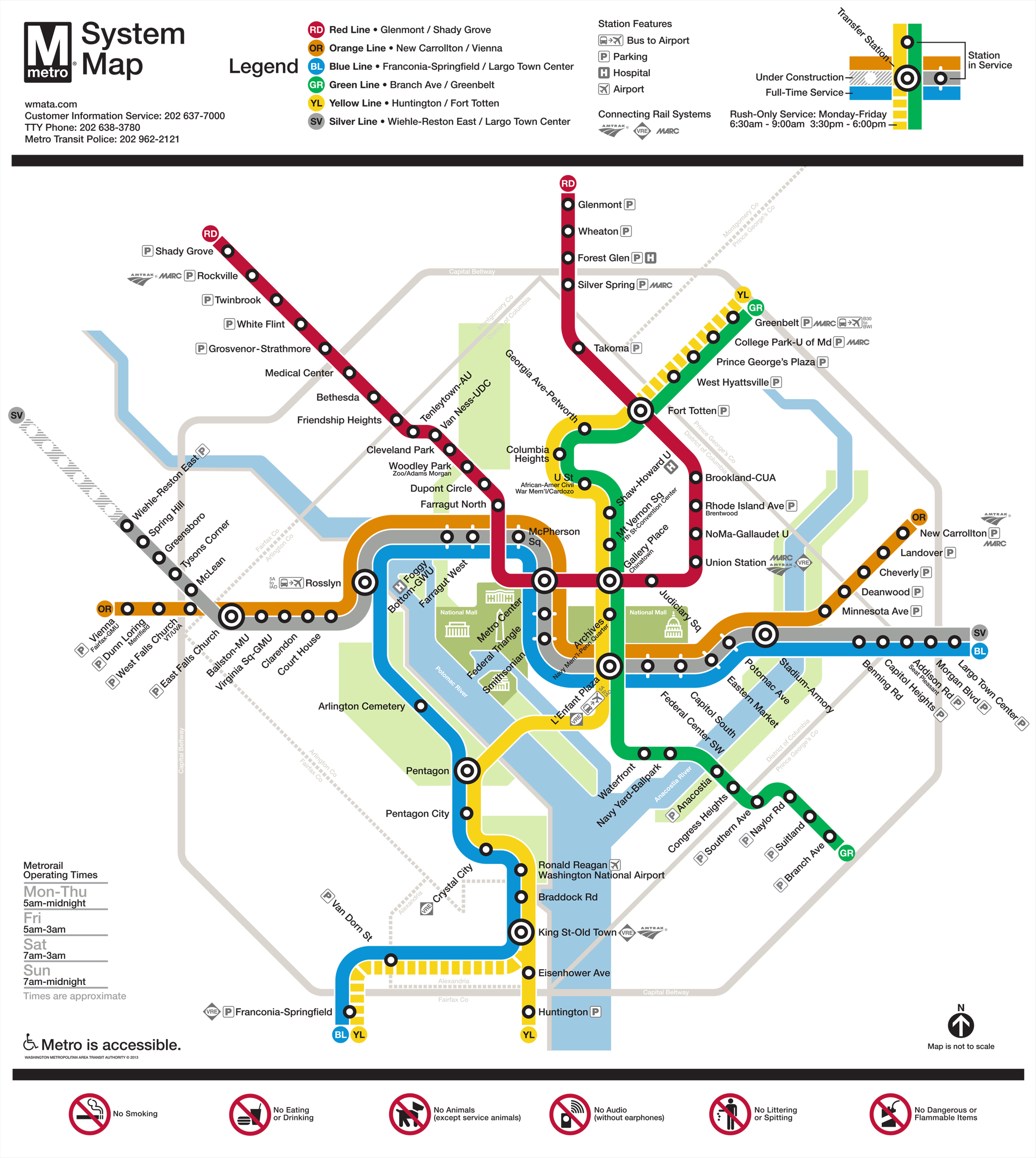 Rail to Tysons | Access Tysons Dc Metro Bus Map on